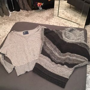 Sweaters - Two grey sweaters